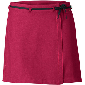 VAUDE Tremalzo II Skirt Women crimson red